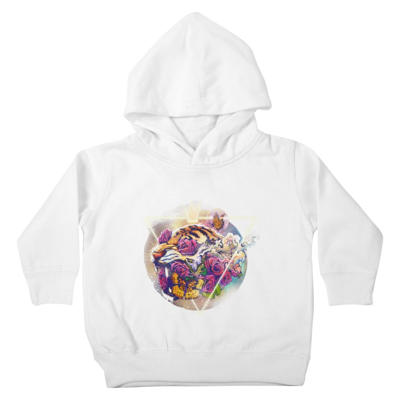Tiger Kids Toddler Pullover Hoody by ES427's Artist Shop