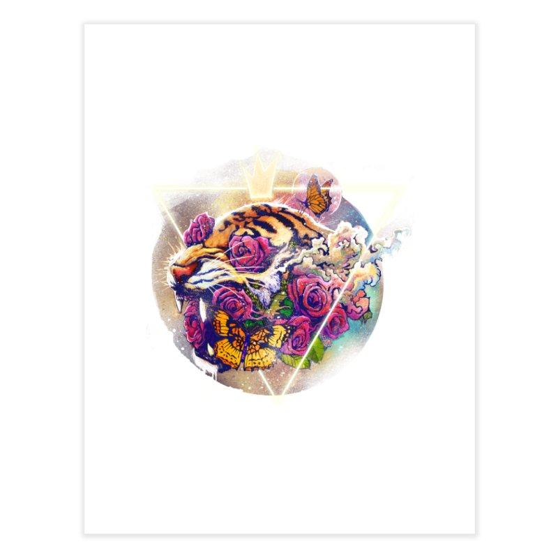 Tiger Home Fine Art Print by ES427's Artist Shop