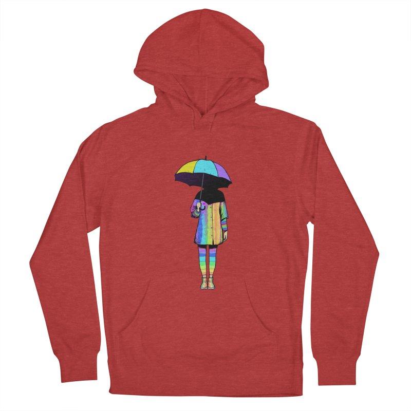 Neon Girl Men's Pullover Hoody by ES427's Artist Shop