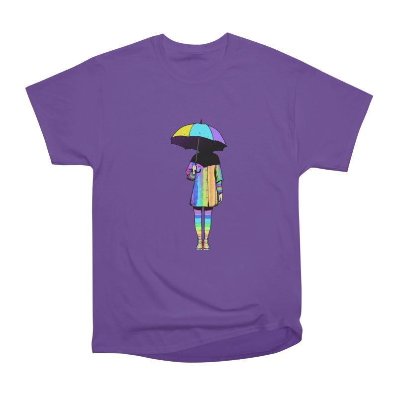 Neon Girl Men's Classic T-Shirt by ES427's Artist Shop