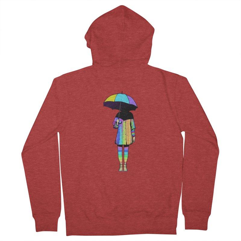Neon Girl Women's Zip-Up Hoody by ES427's Artist Shop