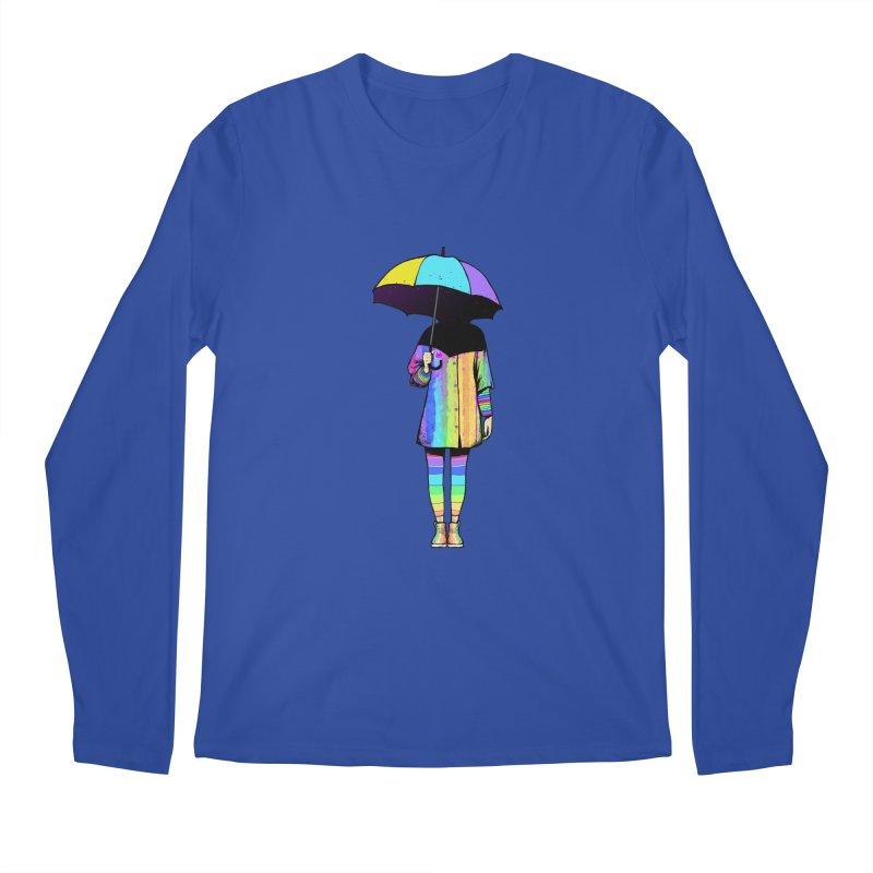 Neon Girl Men's Longsleeve T-Shirt by ES427's Artist Shop