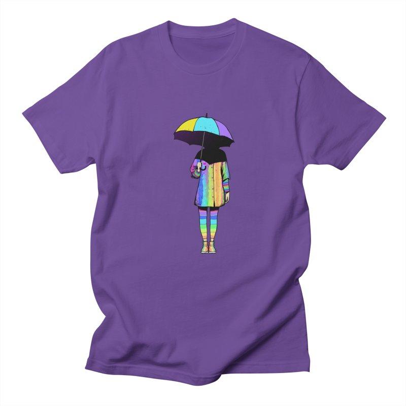 Neon Girl Women's Unisex T-Shirt by ES427's Artist Shop