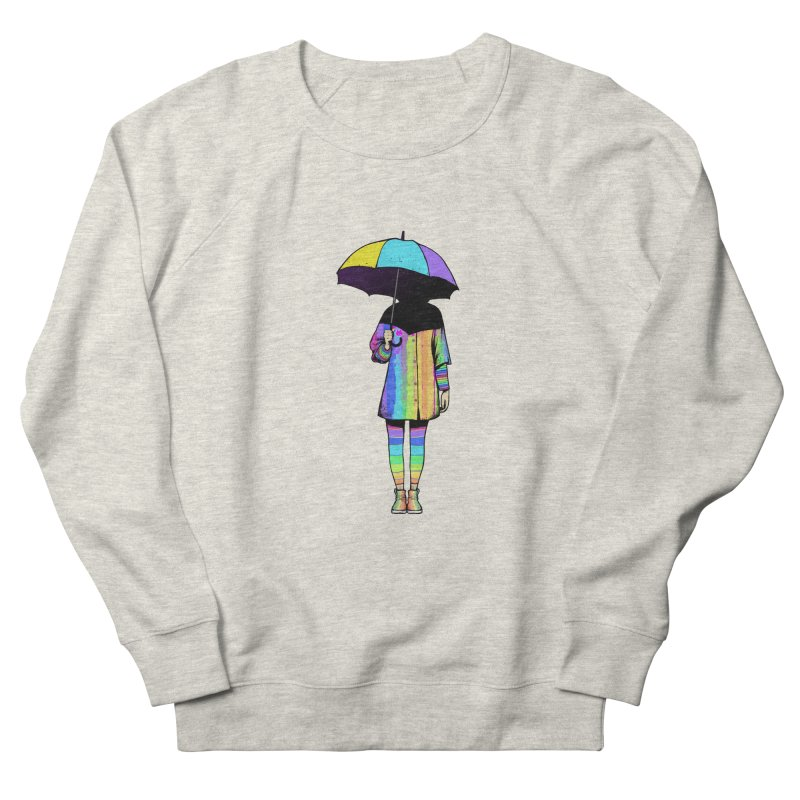 Neon Girl Men's Sweatshirt by ES427's Artist Shop