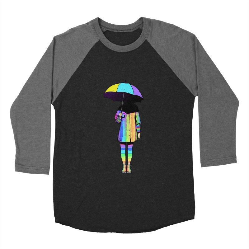 Neon Girl Men's Baseball Triblend T-Shirt by ES427's Artist Shop