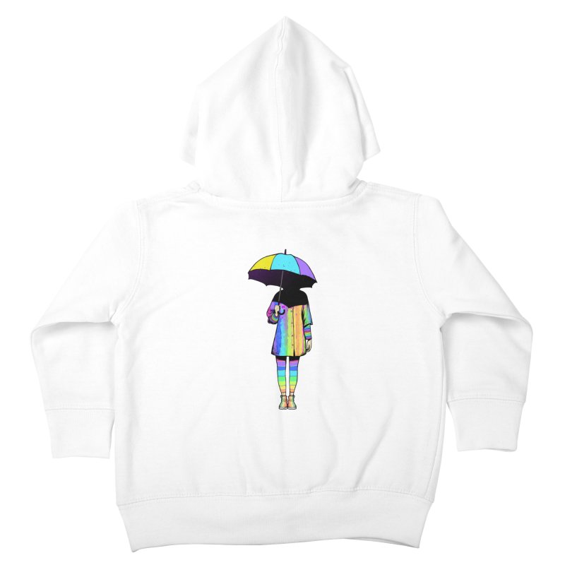 Neon Girl Kids Toddler Zip-Up Hoody by ES427's Artist Shop
