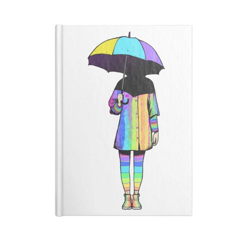 Neon Girl Accessories Notebook by ES427's Artist Shop
