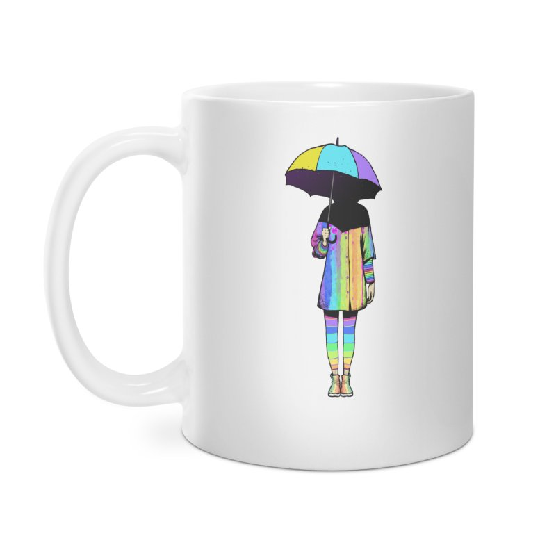 Neon Girl Accessories Mug by ES427's Artist Shop