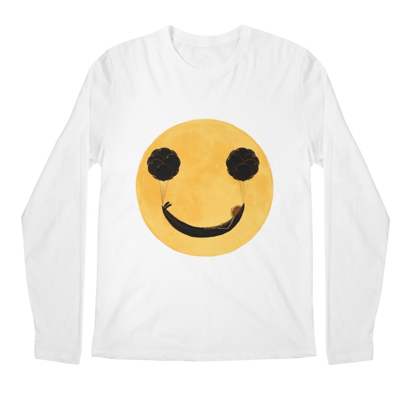 Smile :) Men's Longsleeve T-Shirt by ES427's Artist Shop