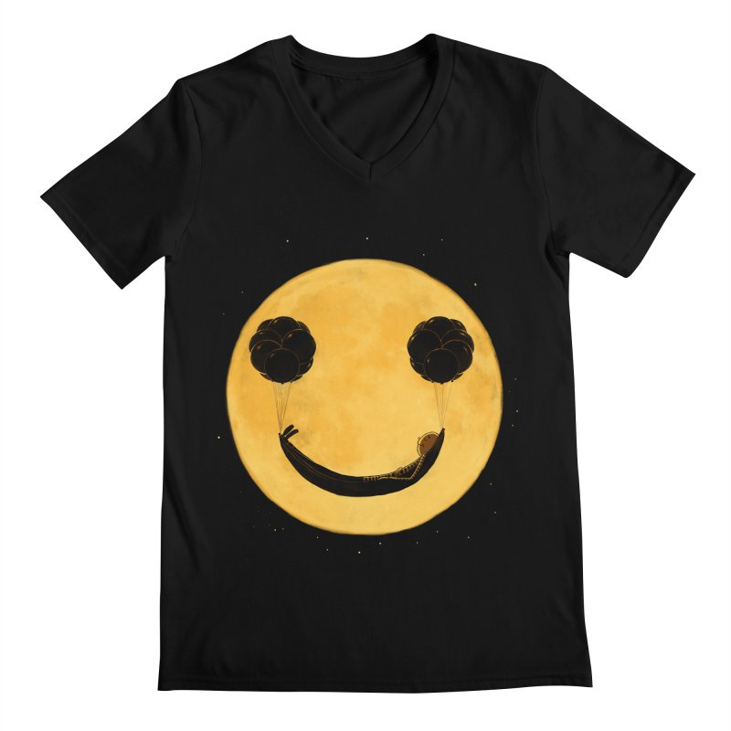 Smile :) Men's V-Neck by ES427's Artist Shop