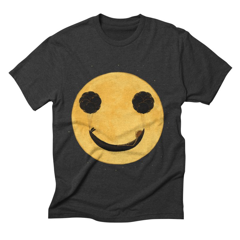 Smile :) Men's Triblend T-shirt by ES427's Artist Shop