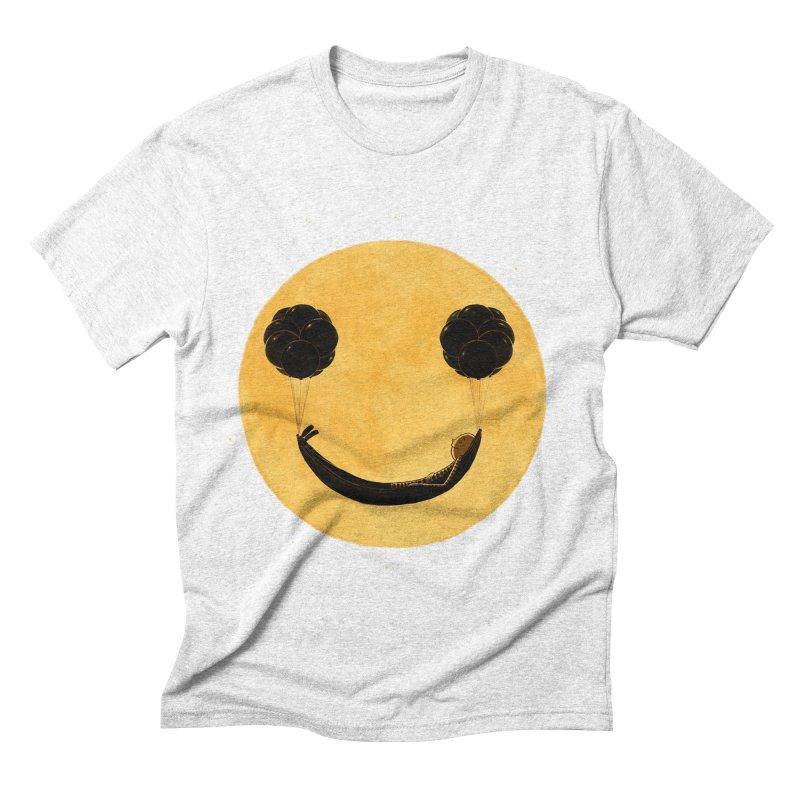 Smile :) Men's Triblend T-shirt by ES427's Artist Shop