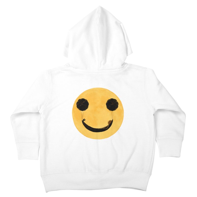 Smile :) Kids Toddler Zip-Up Hoody by ES427's Artist Shop