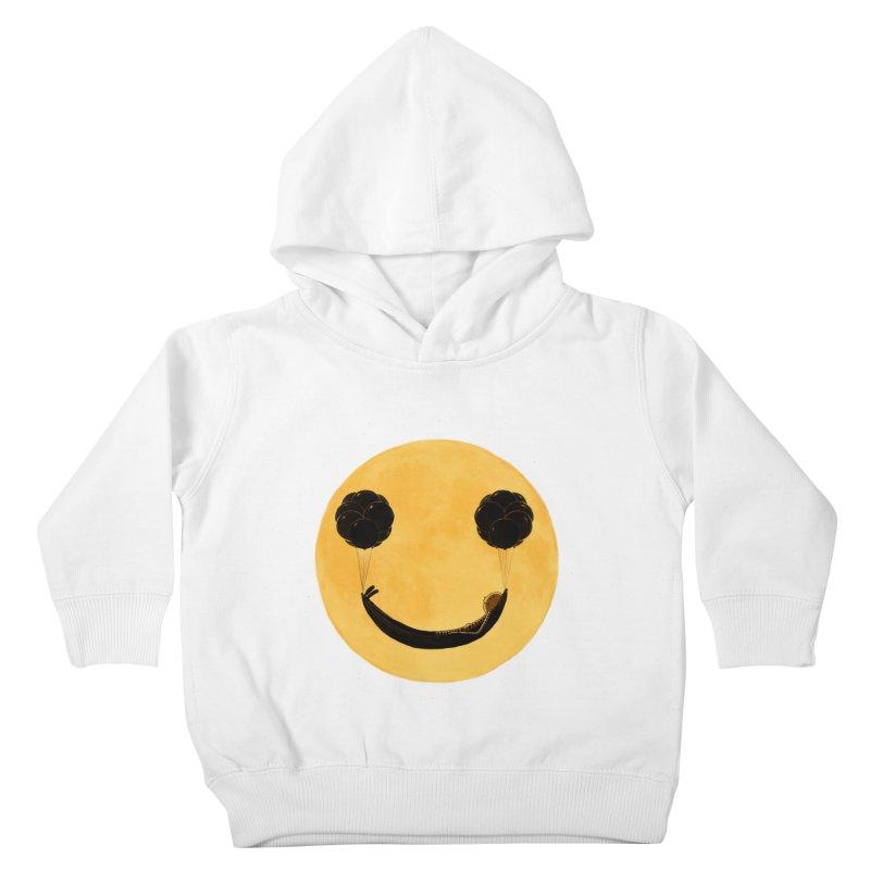 Smile :) Kids Toddler Pullover Hoody by ES427's Artist Shop