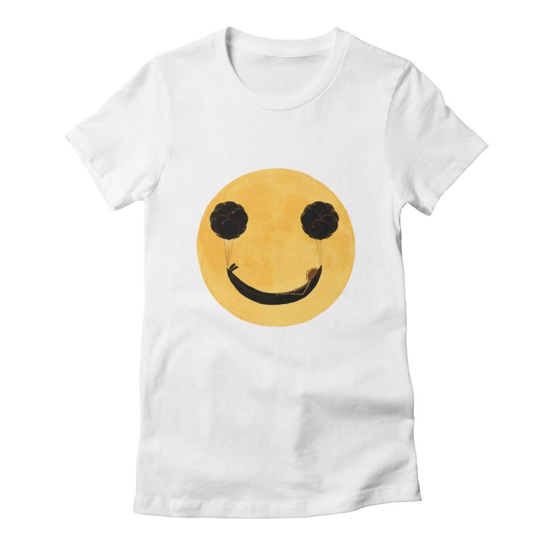 Smile :) Women's Fitted T-Shirt by ES427's Artist Shop