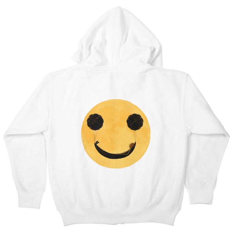 Smile :) Kids Zip-Up Hoody by ES427's Artist Shop