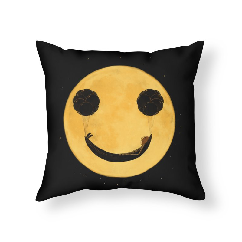 Smile :) Home Throw Pillow by ES427's Artist Shop