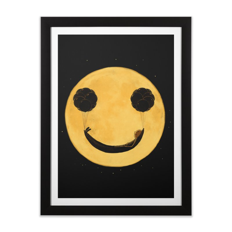 Smile :) Home Framed Fine Art Print by ES427's Artist Shop