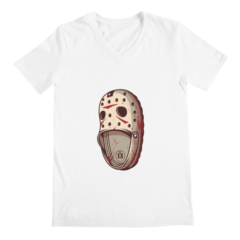 Crock 13 Men's V-Neck by ES427's Artist Shop