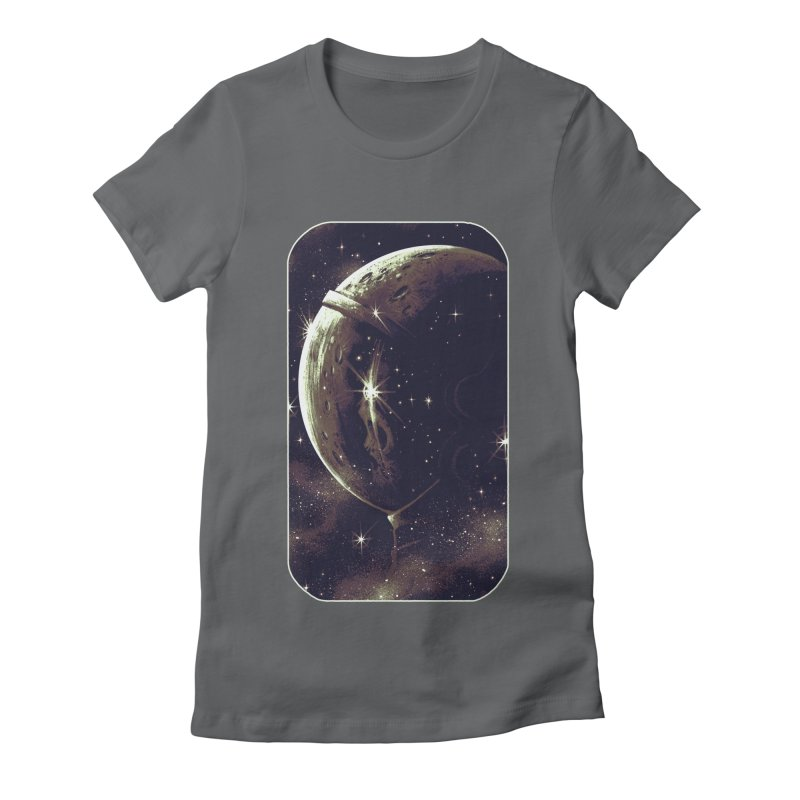 Lost in space Women's Fitted T-Shirt by ES427's Artist Shop