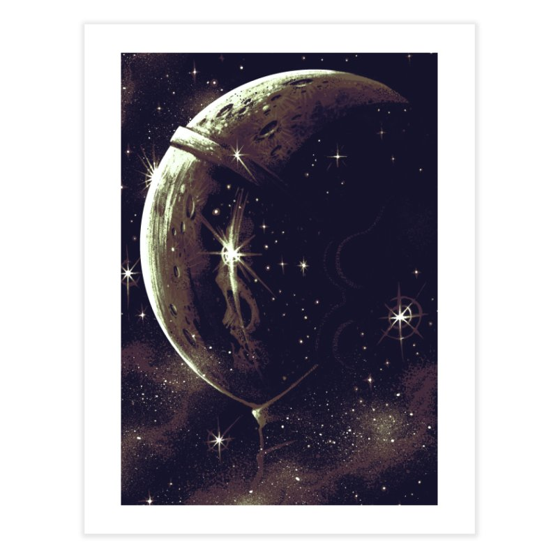 Lost in space Home Fine Art Print by ES427's Artist Shop