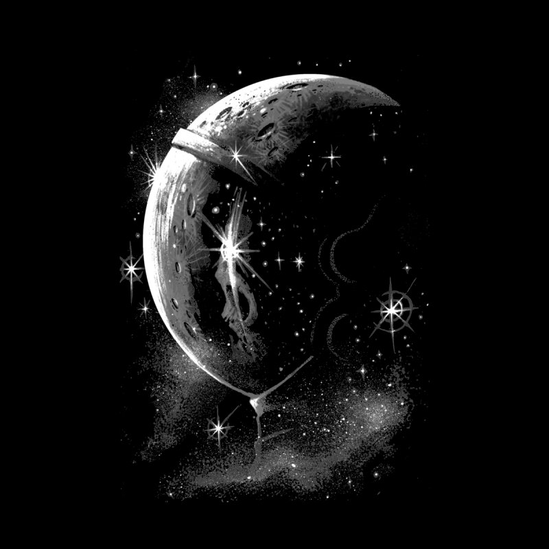 Lost in space B/W  by ES427's Artist Shop