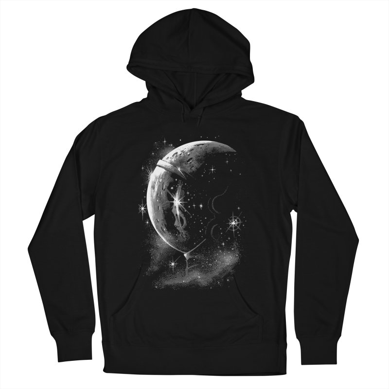 Lost in space B/W  Men's Pullover Hoody by ES427's Artist Shop
