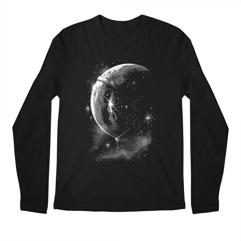 Lost in space B/W  Men's Longsleeve T-Shirt by ES427's Artist Shop