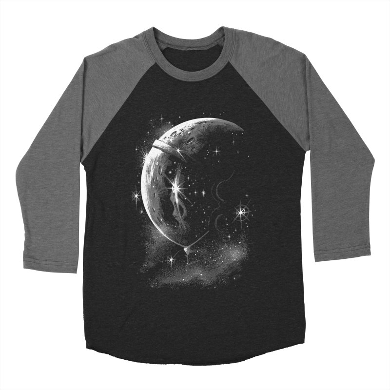 Lost in space B/W  Men's Baseball Triblend T-Shirt by ES427's Artist Shop