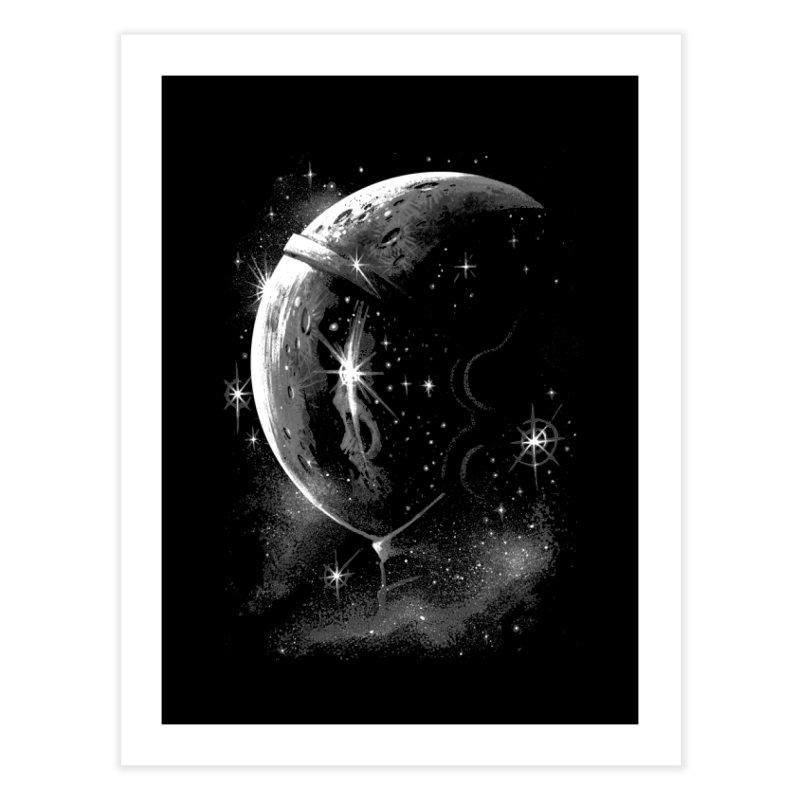 Lost in space B/W  Home Fine Art Print by ES427's Artist Shop