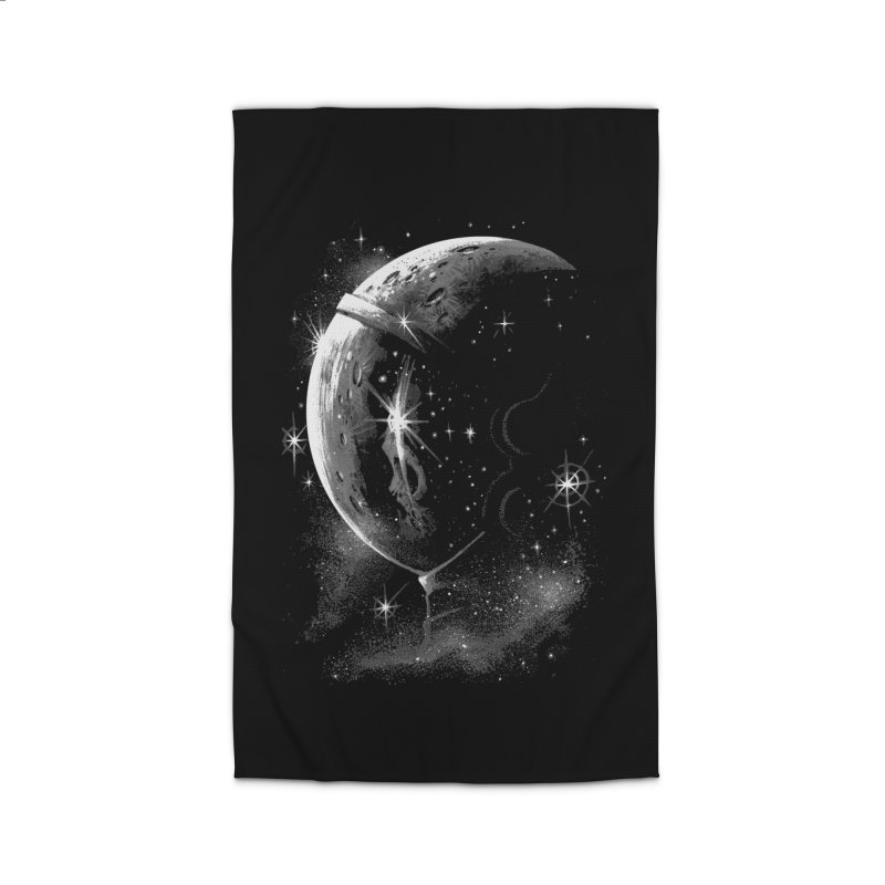 Lost in space B/W  Home Rug by ES427's Artist Shop