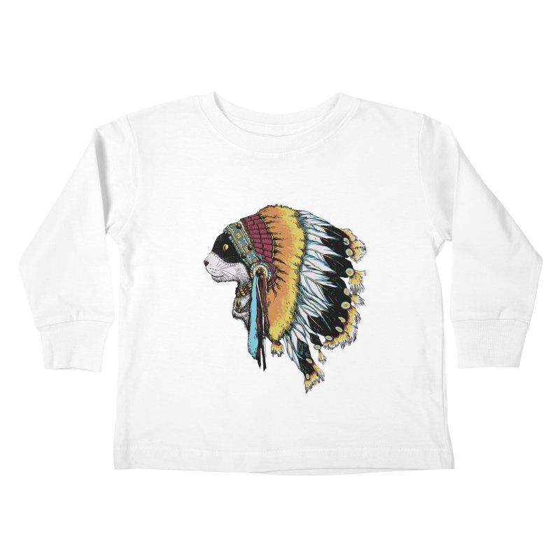 CHIEFCAT Kids Toddler Longsleeve T-Shirt by ES427's Artist Shop