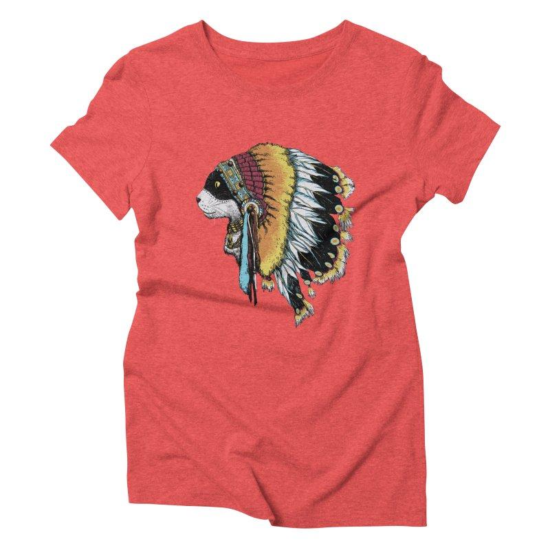 CHIEFCAT Women's Triblend T-shirt by ES427's Artist Shop