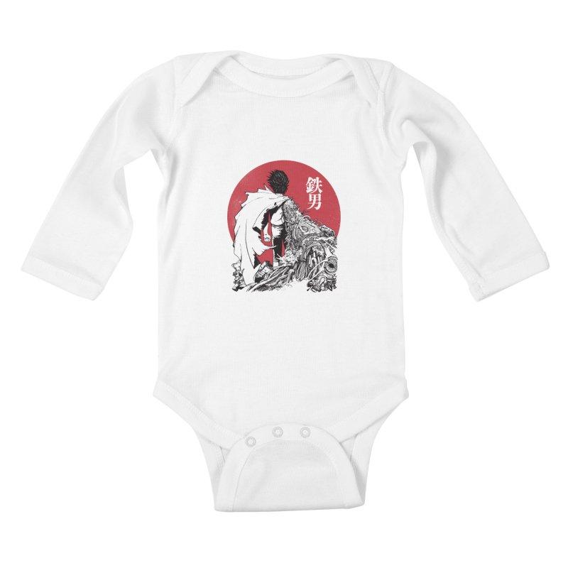 TETSUO Kids Baby Longsleeve Bodysuit by ES427's Artist Shop