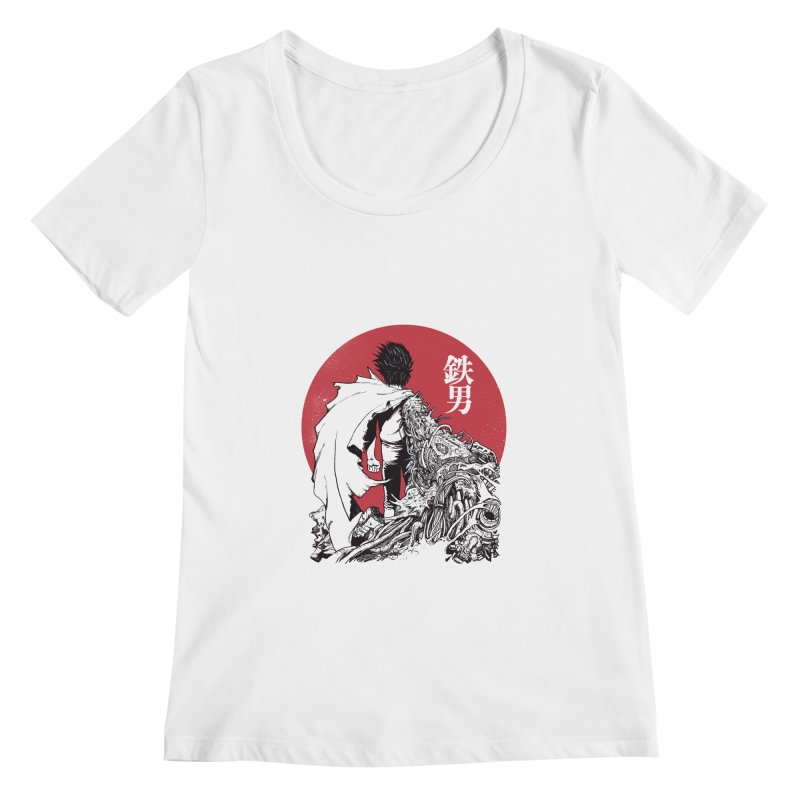 TETSUO Women's Scoopneck by ES427's Artist Shop