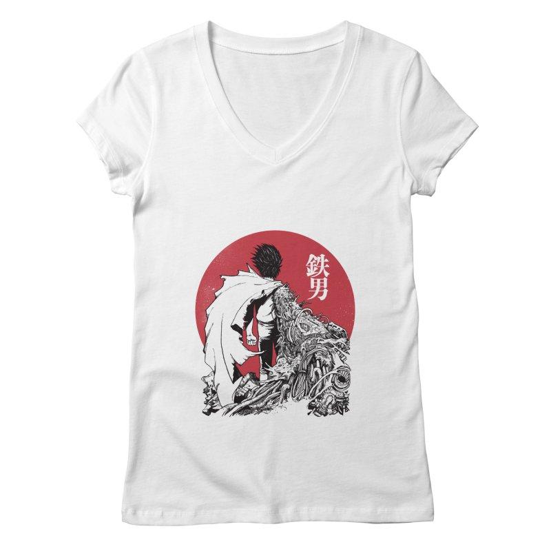 TETSUO Women's V-Neck by ES427's Artist Shop