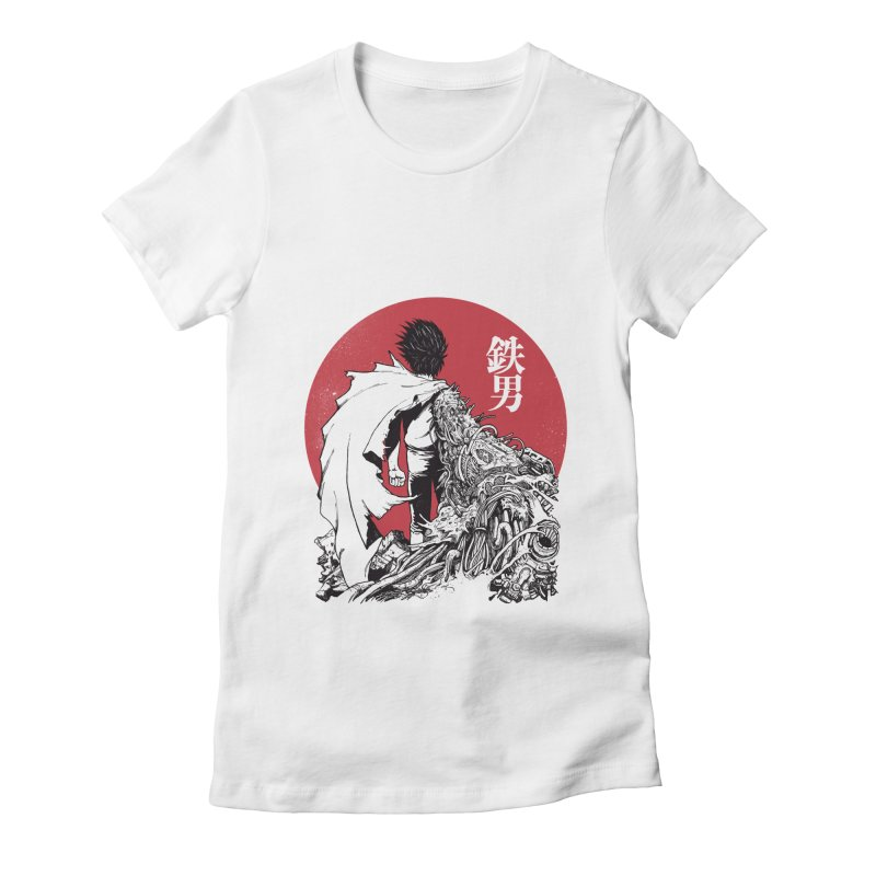 TETSUO Women's Fitted T-Shirt by ES427's Artist Shop