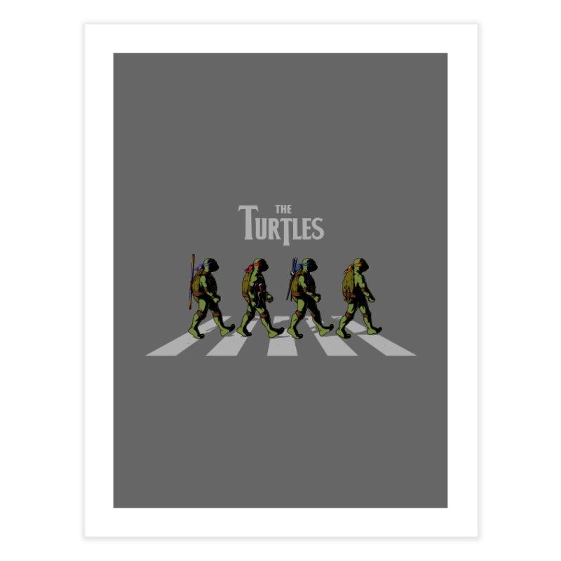The Turtles Home Fine Art Print by ES427's Artist Shop
