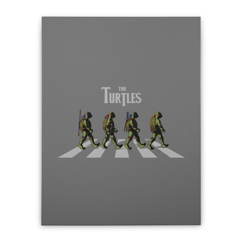 The Turtles Home Stretched Canvas by ES427's Artist Shop