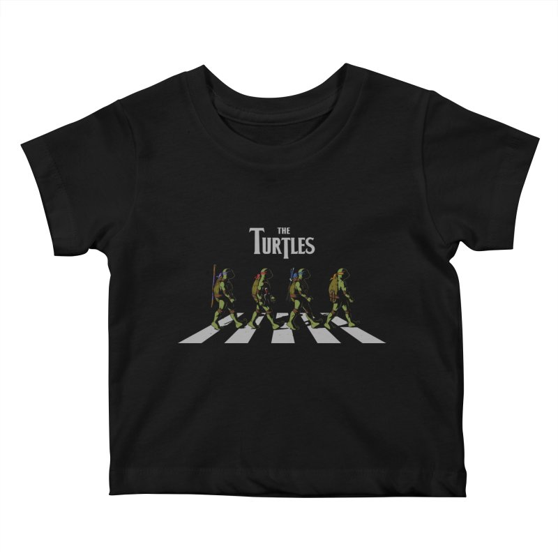 The Turtles Kids Baby T-Shirt by ES427's Artist Shop