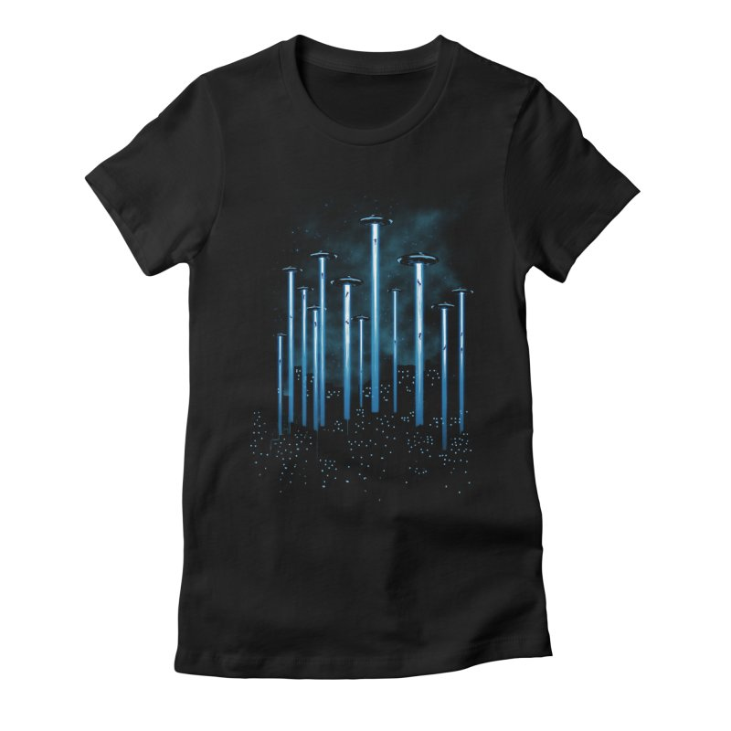 KIDNAP Women's Fitted T-Shirt by ES427's Artist Shop