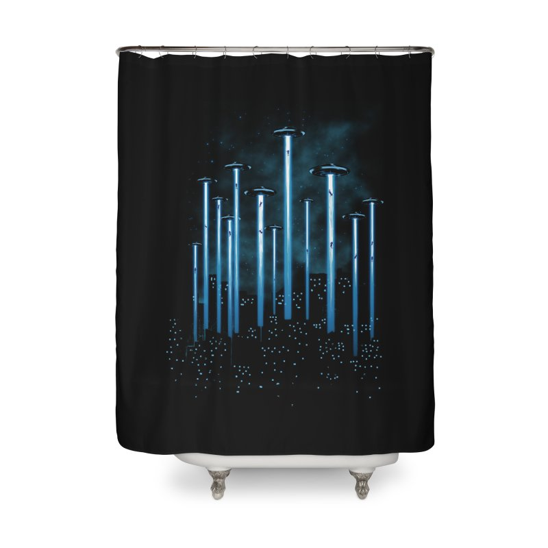 KIDNAP Home Shower Curtain by ES427's Artist Shop