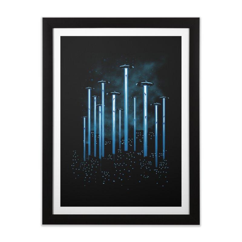 KIDNAP Home Framed Fine Art Print by ES427's Artist Shop