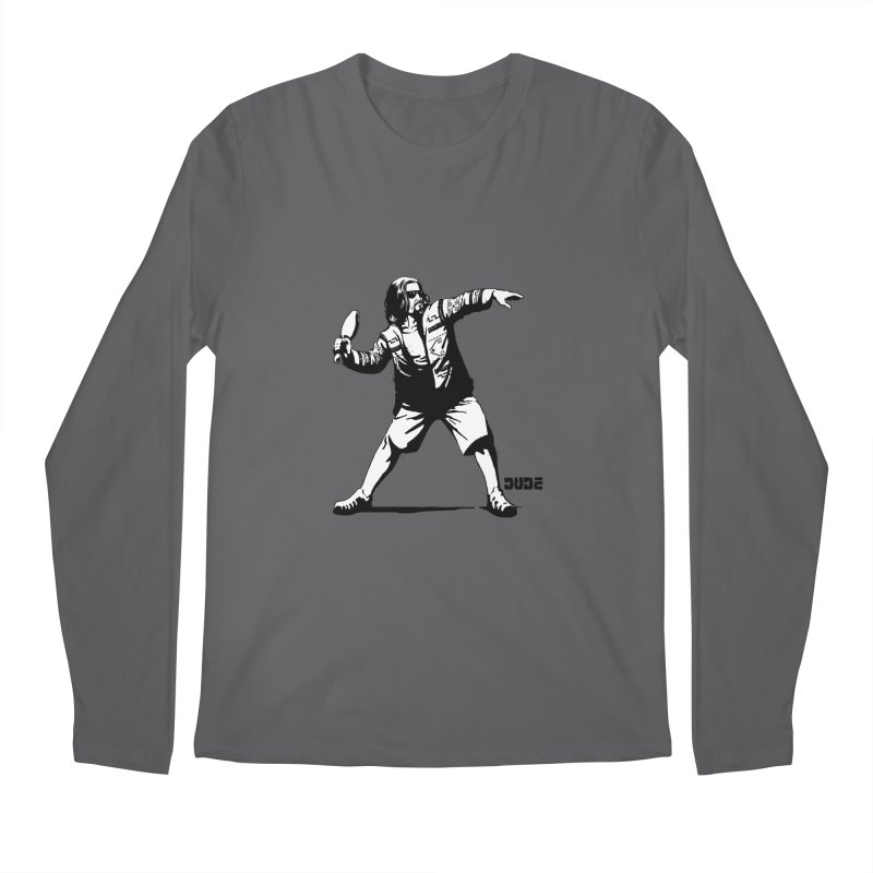 THE DUDE Men's Longsleeve T-Shirt by ES427's Artist Shop