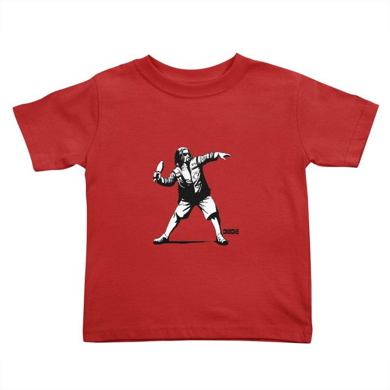 THE DUDE Kids Toddler T-Shirt by ES427's Artist Shop