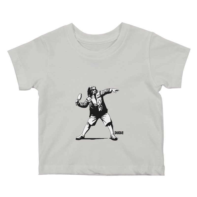THE DUDE Kids Baby T-Shirt by ES427's Artist Shop