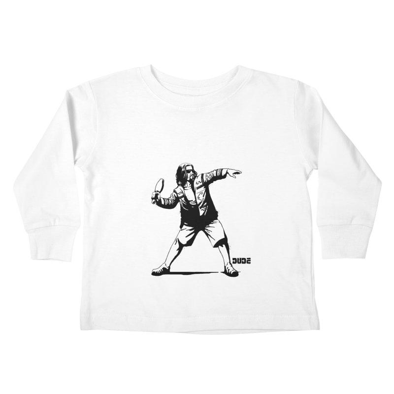 THE DUDE Kids Toddler Longsleeve T-Shirt by ES427's Artist Shop