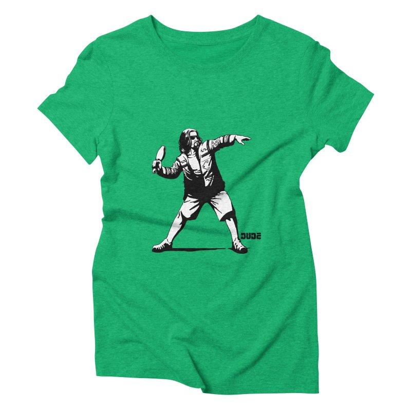 THE DUDE Women's Triblend T-shirt by ES427's Artist Shop