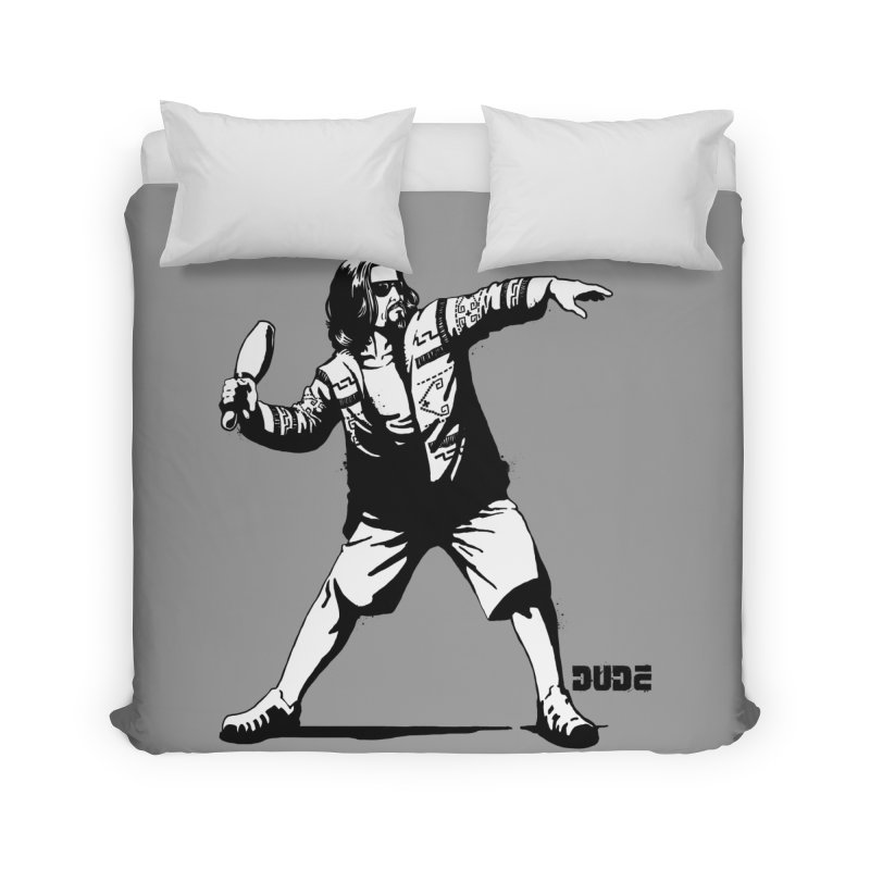 THE DUDE Home Duvet by ES427's Artist Shop