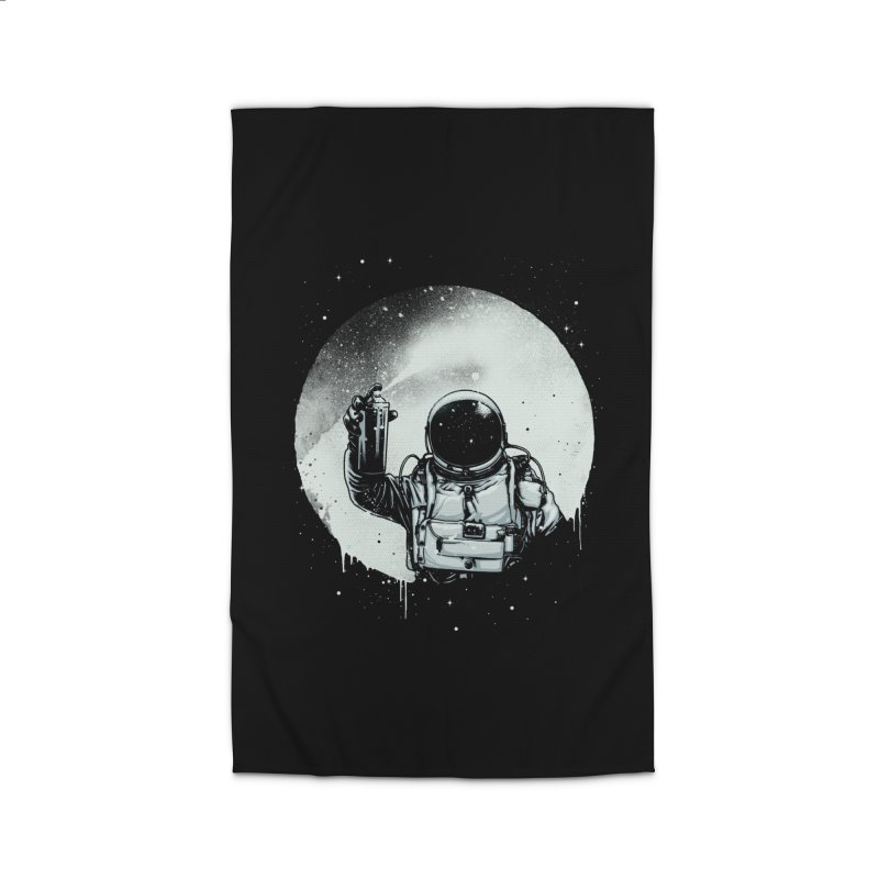 Paint the moon Home Rug by ES427's Artist Shop